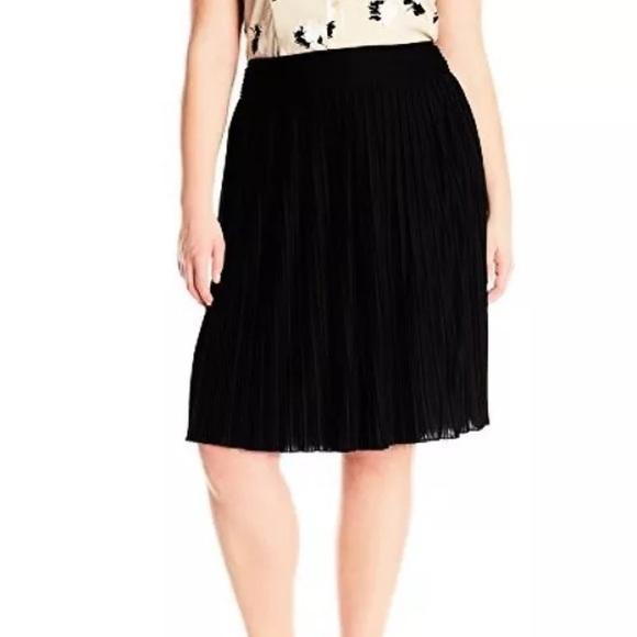 b29892c94e Calvin Klein Skirts | Womens Plus 0x Skirt Pleated Aline | Poshmark